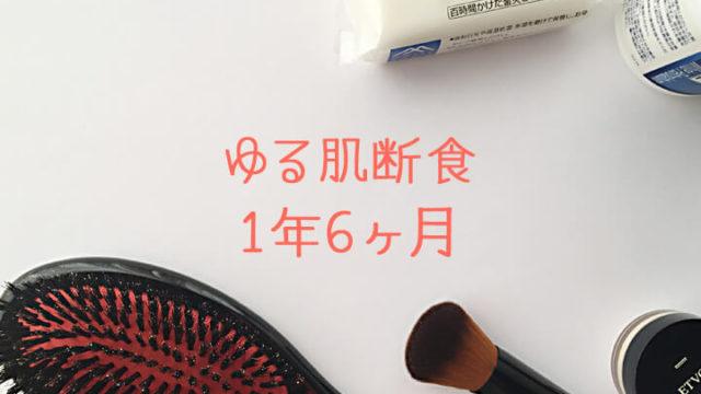 こすらない石けん洗顔-ゆる肌断食日記1年6ヶ月-