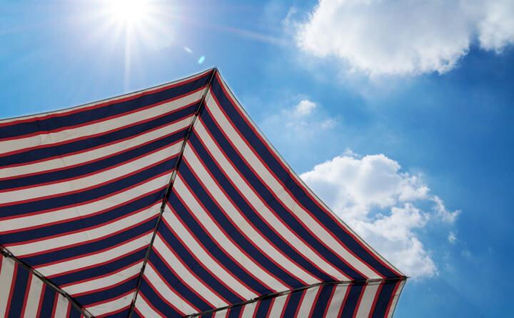 日傘があれば大丈夫